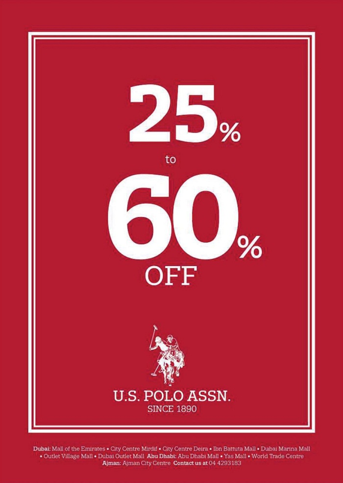 U.S. Polo Assn Part Sale - Dubaisavers