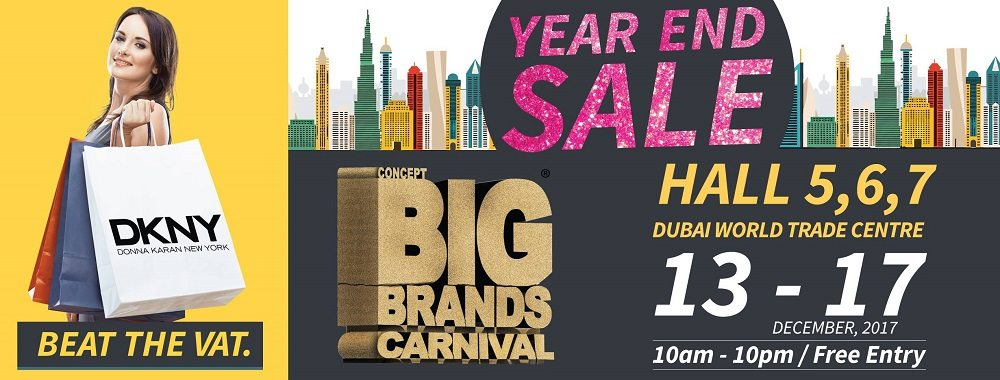 Concept Big Brands Carnival Big Year End Annual Sale - Dubaisavers