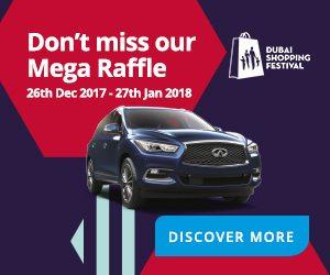 Infiniti Mega DSF Raffle - Dubaisavers