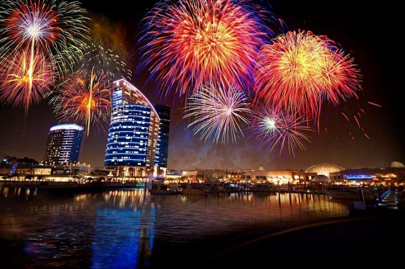 DSF Fireworks Night - Dubaisavers