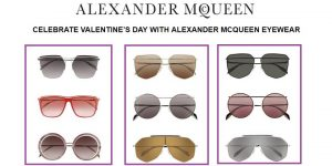 Celebrate Valentine's Day with Eyewear from Alexander McQueen - Dubaisavers