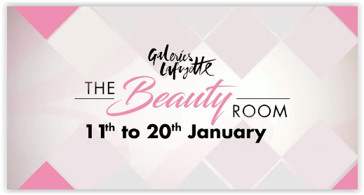Galeries Lafayette The Beauty Room event