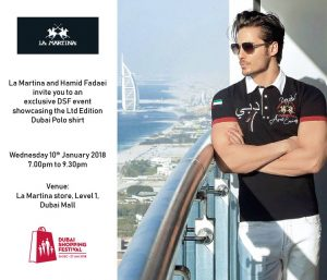 La Martina exclusive DSF event with Hamid Fadaei - Dubaisavers