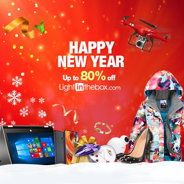 LightInTheBox New Year Savings offers - Dubaisavers