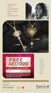 Pure Gold Valentine's Day Promotion - Dubaisavers