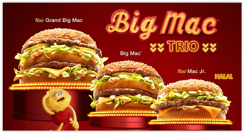 McDonald's releases Two Limited Edition Variations Of Their Famous Big Mac