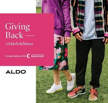 Aldo Shoes Donate and be Gifted Campaign at Ibn Battuta Mall - Dubaisavers