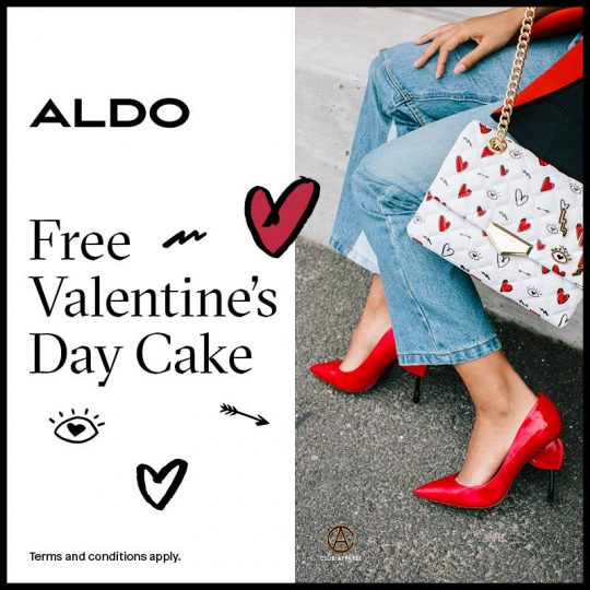 Valentine's day special offer from Aldo - Dubaisavers