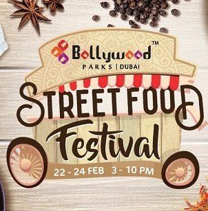 Indian Street Food Festival at Bollywood Parks - Dubaisavers