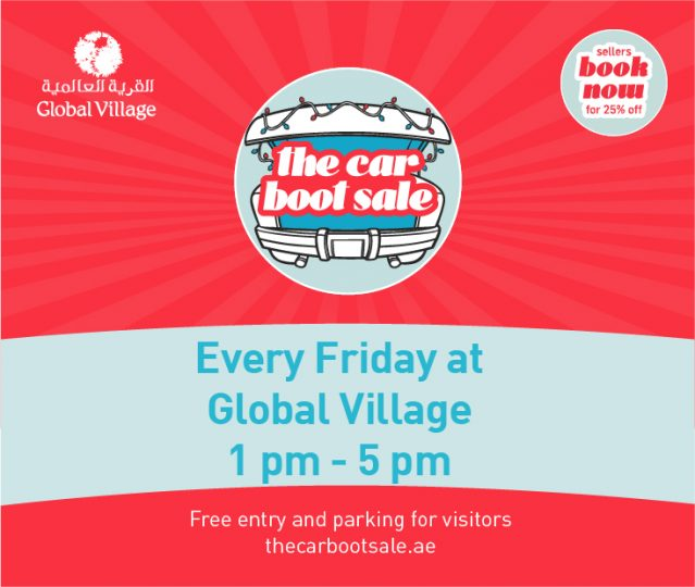 The Car Boot Sale at Global Village - Dubaisavers