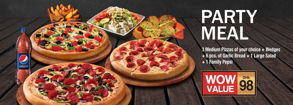 Pizza Hut Party Meal Box offer - Dubaisavers