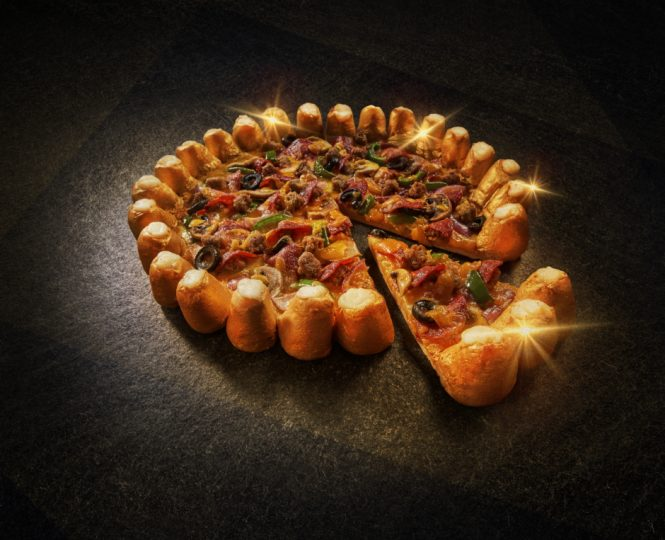 Valentine's day Special Limited Edition Golden Bites pizzas at Pizza Hut - Dubaisavers