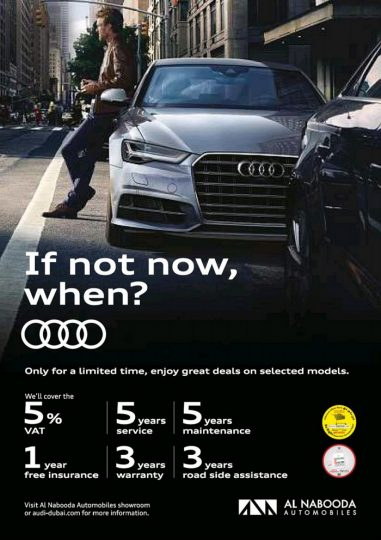 Audi Limited Period offers - Dubaisavers