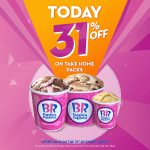 Today's the day! 31% off at Baskin Robbins - Dubaisavers