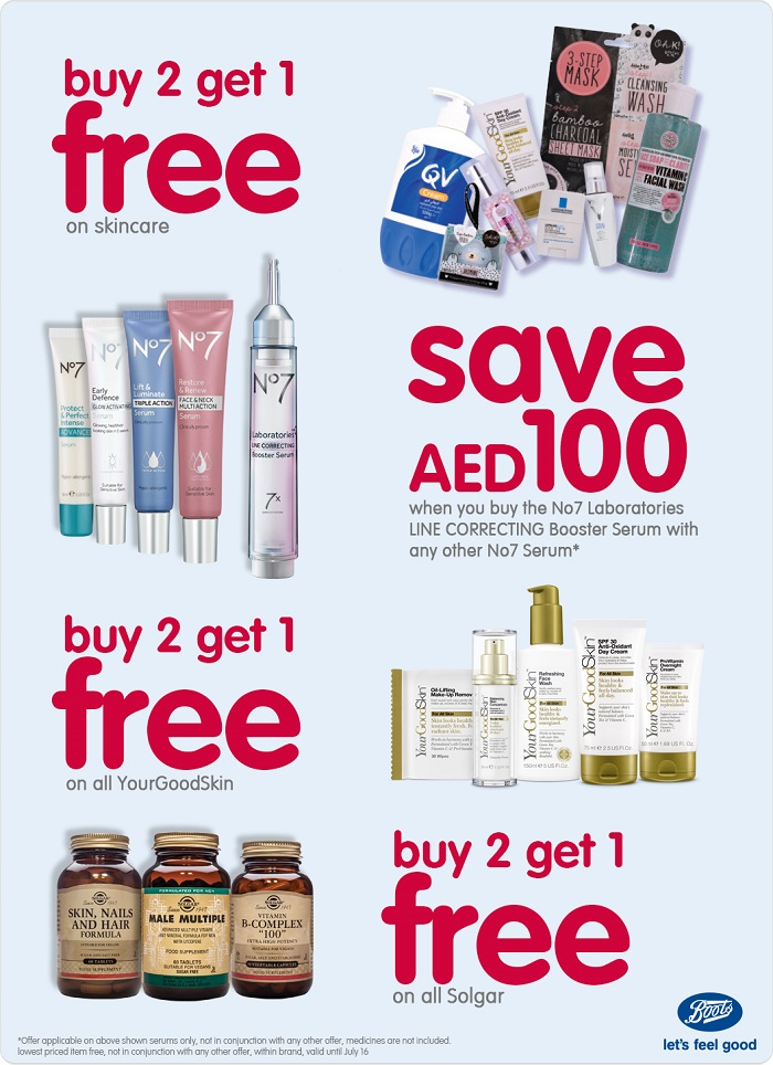 Boots Special offers - Dubaisavers