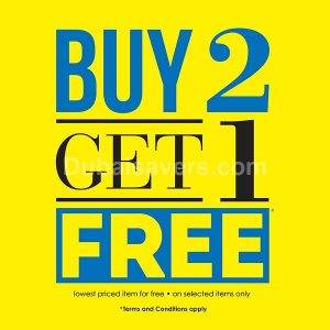 Red Tag Buy 2 Get 1 Free Offer - Dubaisavers