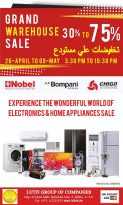 Lutfi Group Grand Warehouse sale - Dubaisavers