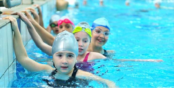 Swimming Classes In The Indoor Or Outdoor Pool With Certified Instructors At Sprint Swimming