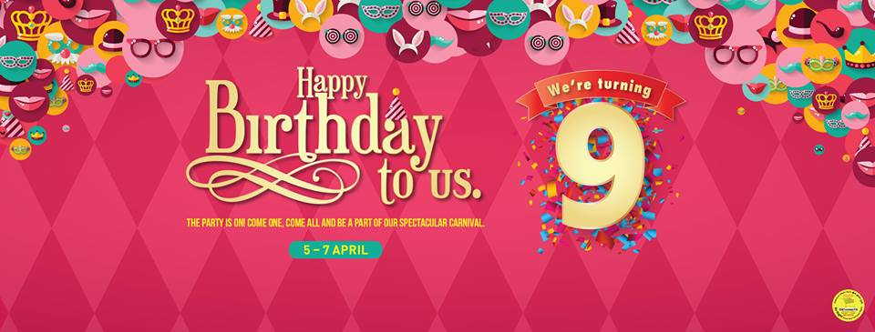 Arabian Center Birthday Carnival - Dubaisavers