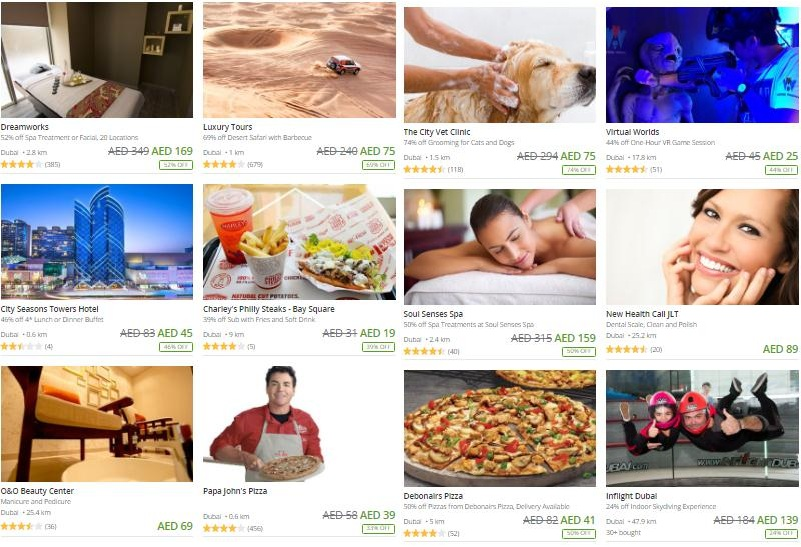 15% off the best Local deals on Groupon- Offer ends midnight! - Dubaisavers