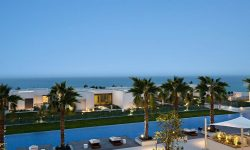 The Oberoi Ajman al zorah front view