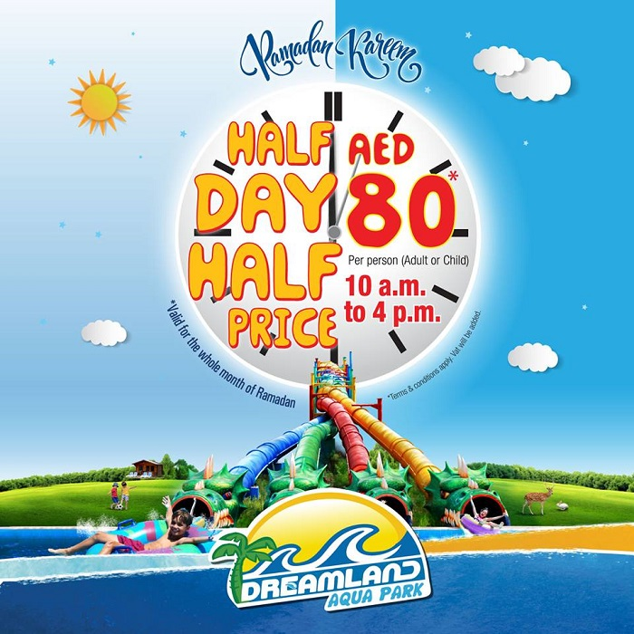 Dreamland Aqua Park Ramadan offer - Dubaisavers