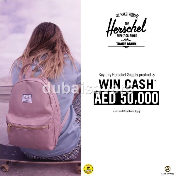 Herschel Supply Co. Back to School offer - Dubaisavers
