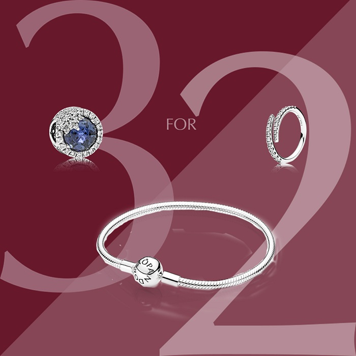 Pandora 3 for 2 offer - Dubaisavers
