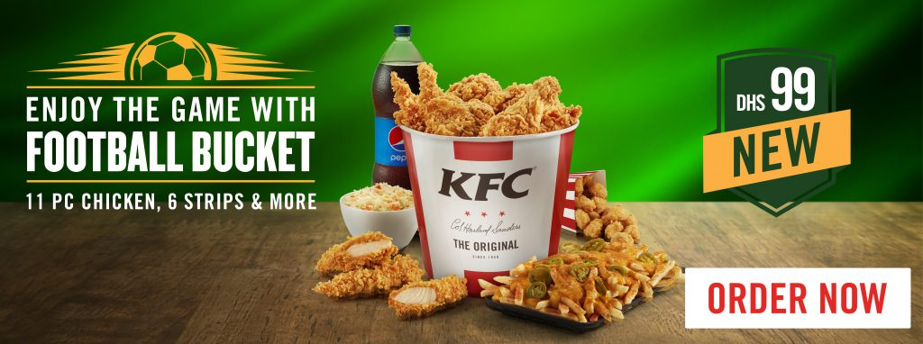 Enjoy the Game with the Football Bucket offer from KFC - Dubaisavers