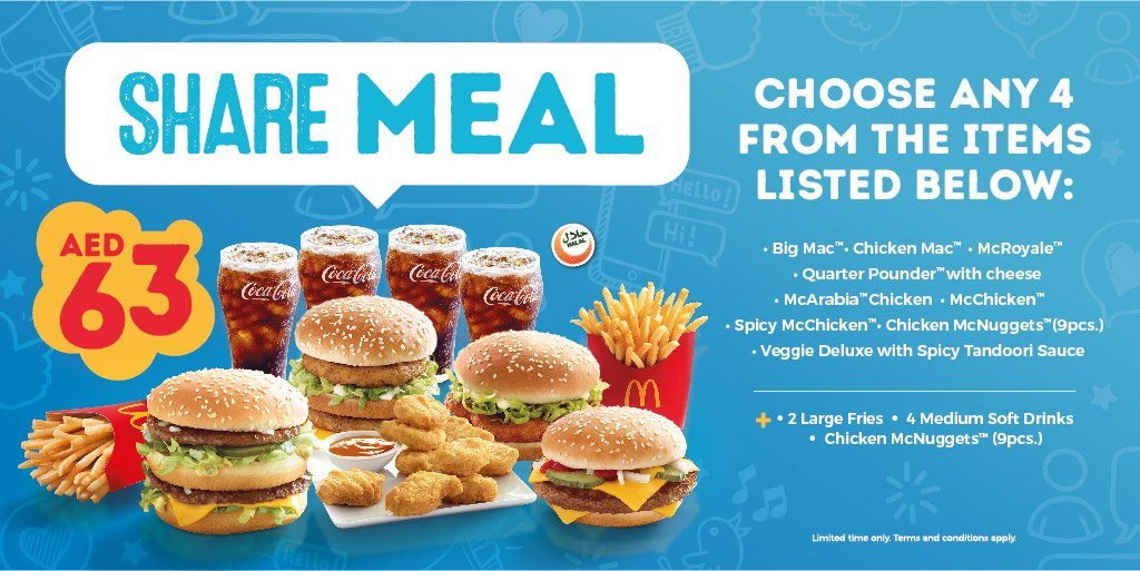 McDonald's Share Meal Promotion - Dubaisavers