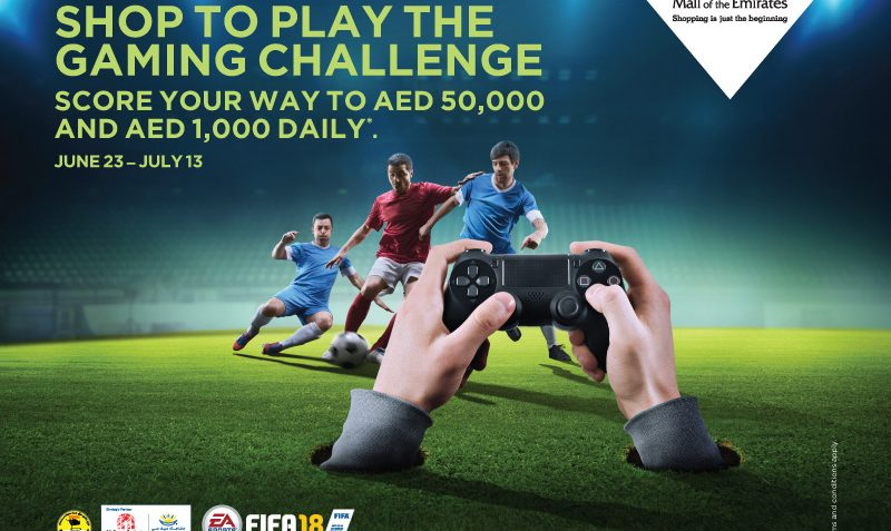 EA Sports FIFA 18 challenge at Mall of the Emirates - Dubaisavers