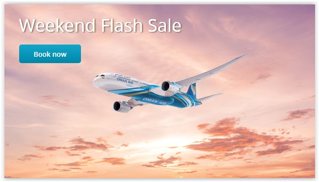 Oman Air Weekend Flash Sale - Dubaisavers
