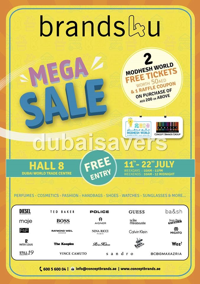 brands4u Mega Sale - Dubaisavers