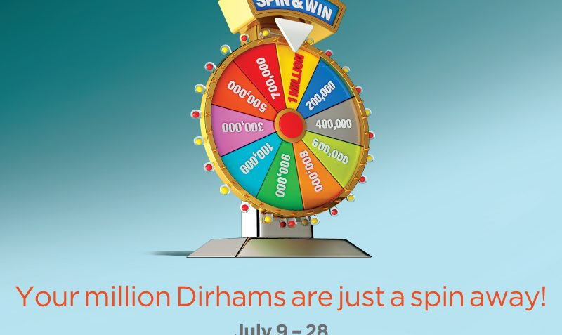 Spin and become a Millionaire at City Centre Deira - Dubaisavers
