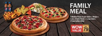 Pizza Hut Family Meal offer - Dubaisavers