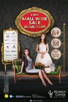 4 Day Mall Wide sale at Arabian Center - Dubaisavers