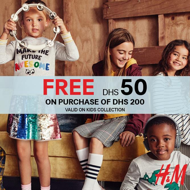 H&M Back to School Promotion - Dubaisavers