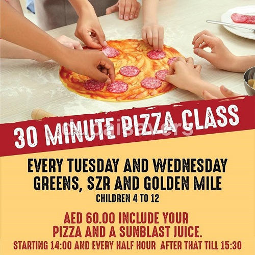 Organic Foods & Cafe Kids Pizza Classes - Dubaisavers