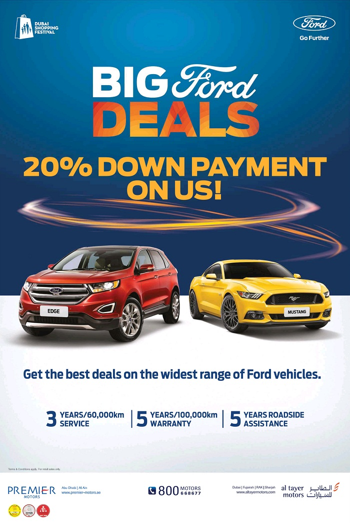Ford Fresh Start offers - Dubaisavers