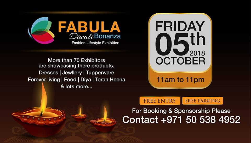 Fabula Diwali Bonanza Fashion Exhibition - Dubaisavers