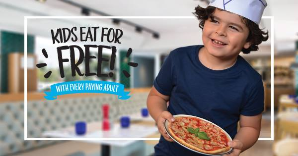 Kids Eat FREE at PizzaExpress - Dubaisavers