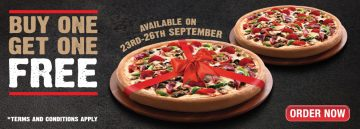 Pizza Hut Latest offers - Buy One Get One FREE - Dubaisavers