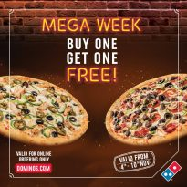 Domino's Pizza Latest offer - The Holiday Meal - Dubaisavers