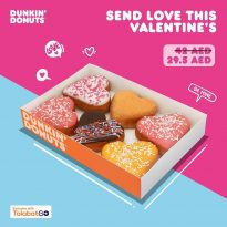 Dunkin Donuts Valentine's day offer - Dubaisavers