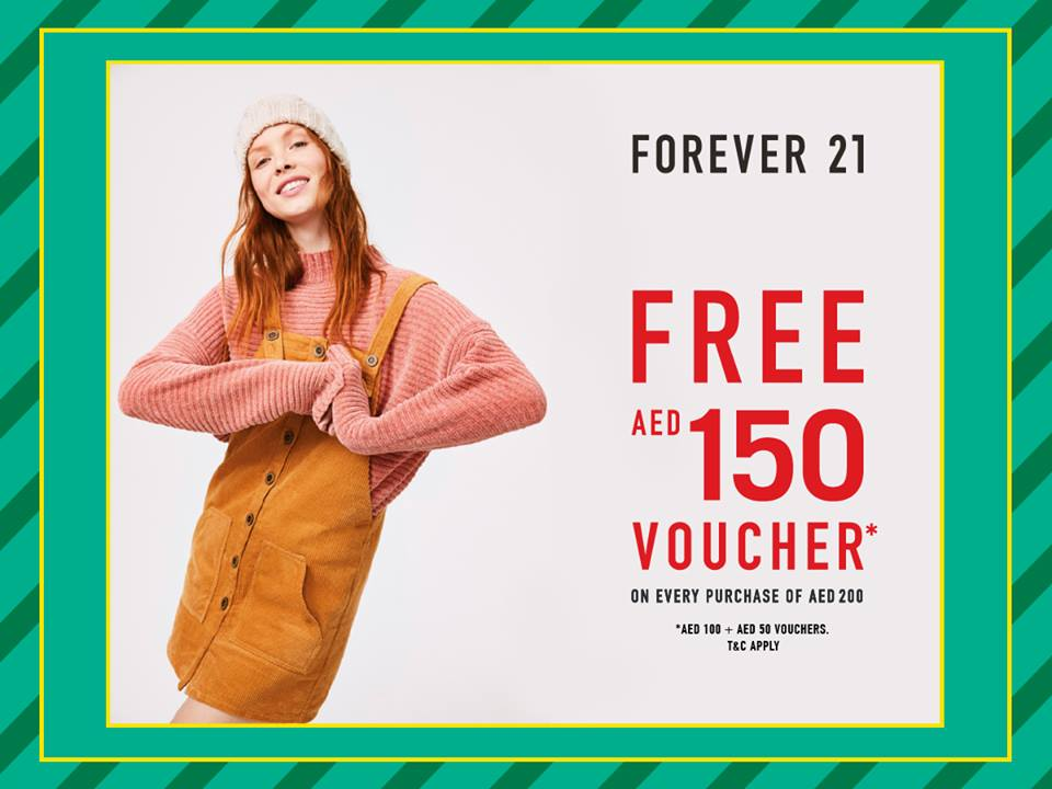 Forever 21 Irresistible Holiday Deal - Dubaisavers