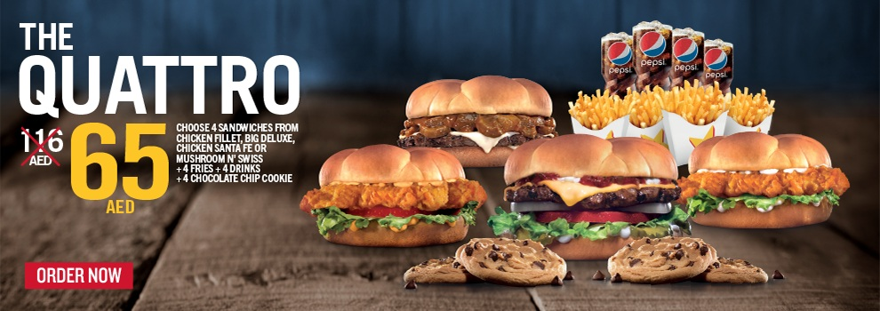 Hardees Latest offers - Dubaisavers