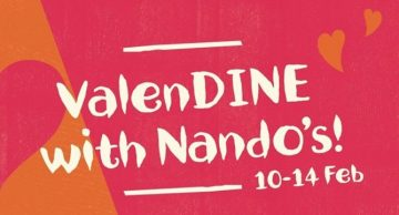 Nando's Valentine's day offer - Dubaisavers