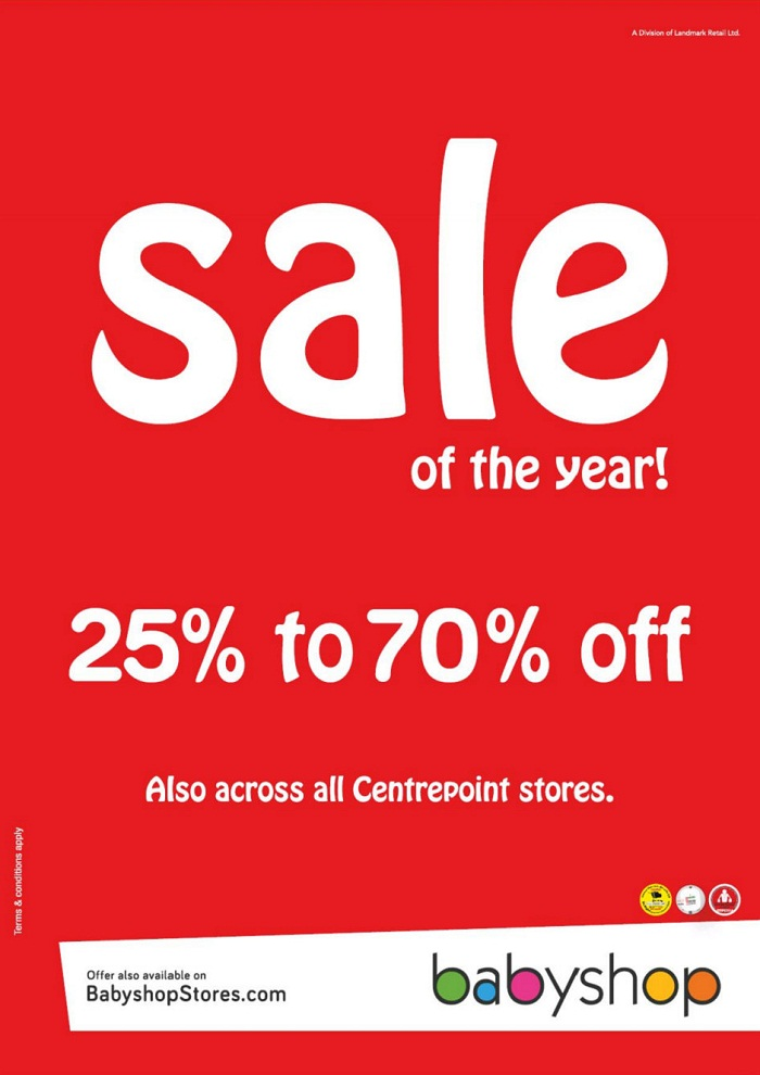 Further Reductions at the Babyshop Sale of the Year - Dubaisavers