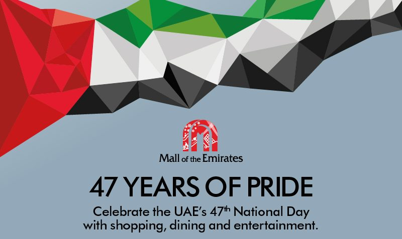 Mall of the Emirates Celebrates UAE National day - Dubaisavers