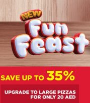 Pizza Hut Latest offers - Fun Feast - Dubaisavers